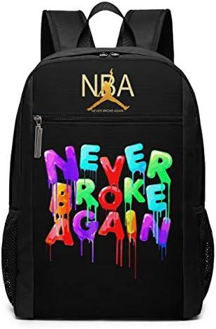 ShenG TianAo NBA Young-boy Theme Fashion Men s and Women s Classic Shoulder Backpack 17 Inch