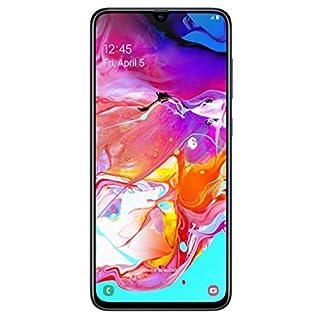 "Samsung Galaxy A70 128GB/6GB SM-A705MN/DS 6.7"" HD+ Infinity-U 4G/LTE Factory Unlocked Smartphone (International Version, No Warranty) (Black) (Renewed)"
