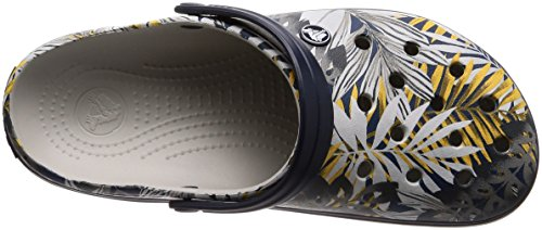 Clog Navy Pearl White Crocband Graphic ApBwWqB5