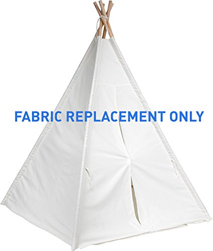 Replacement Fabric for 6' Canvas Teepee - by Trademark Innovations