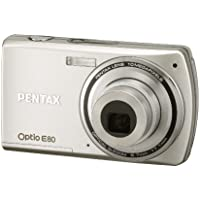 Pentax Optio E80 10MP Digital Camera with 3x Wide Angle Optical Zoom and 2.7-inch LCD (Silver) Advantages Review Image