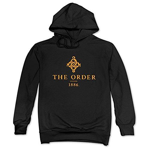 Price comparison product image Man The Order: 1886 Game Logo Black Hoodie Sweatshirt