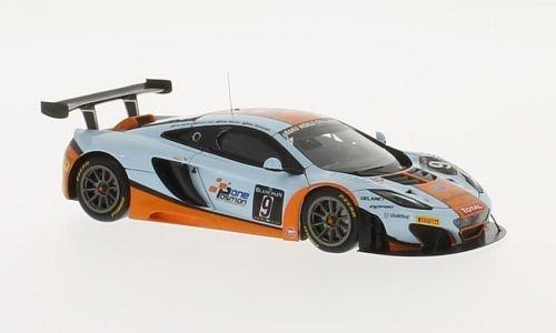 McLaren MP4-12C GT3, No.9, Gulf Racing, 24h Spa, 2013, Modellauto, Fertigmodell, TrueScale Miniatures 1:43