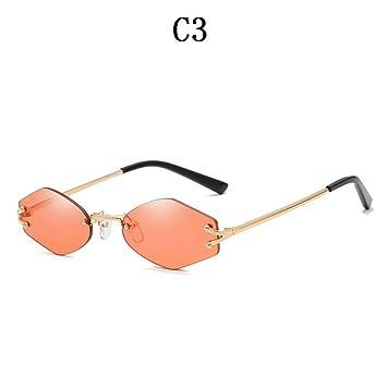 Gafas De Sol Unisex De Moda De Tendencia Sin Bordes ...