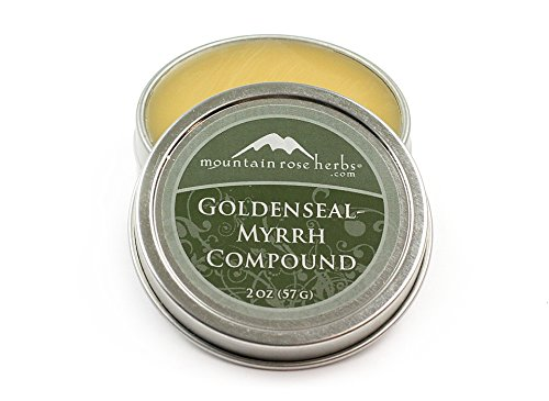 Mountain Rose Herbs Goldenseal Myrrh Compound 2 oz