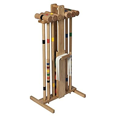 Lion Sports Premier 6 Player 33-Inch Croquet Set with Stand