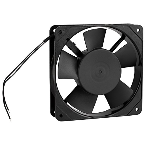 Parts Express Muffin Style Axial Cooling Fan 120 VAC 120 x 120 x 25mm 45 CFM by Parts Express