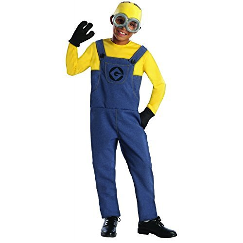 Despicable Me 2 Minion Dave Child Costume (Minion Dave Costume - Medium)