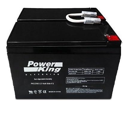 UPS Battery for APC BackUPS RS 1300 LCD 12V, 9 0Amp Lead Acid Battery
