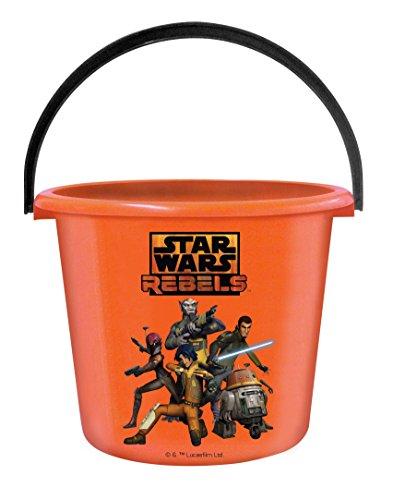 Star Wars Treat Pail (Rubie's Costume Star Wars Rebels Trick-Or-Treat Pail)