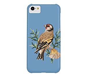 Bird 4 iPhone 5c Cerulean frost Barely There Phone Case - Design By Humans