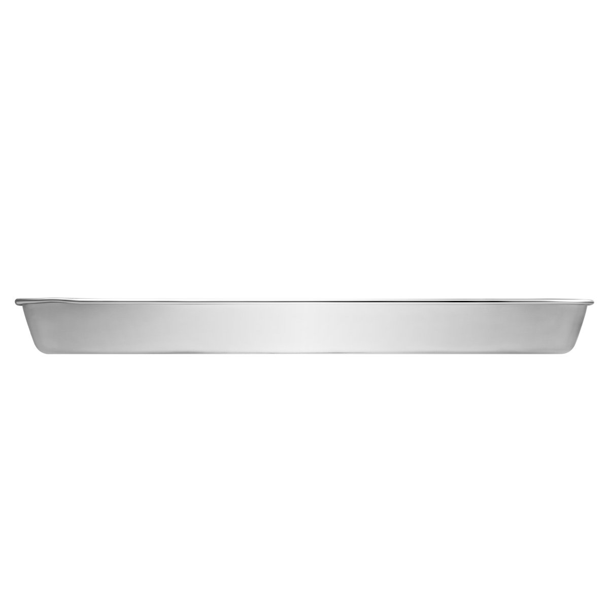 Stainless Steel Baking Sheets, HKJ Chef Baking Pans & Cookie Sheets for Oven & Mini Toaster Oven Tray Pans & Non Toxic & Healthy,Superior Mirror & Easy Clean by HKJ Chef (Image #3)