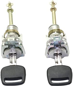 Amazon Com Door Lock Cylinder Compatible With Honda Odyssey 03 04 Civic 03 05 Front Lh W Keys Automotive