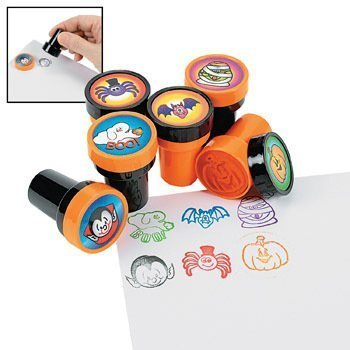 Fun Express Halloween Stamps - 24 per unit