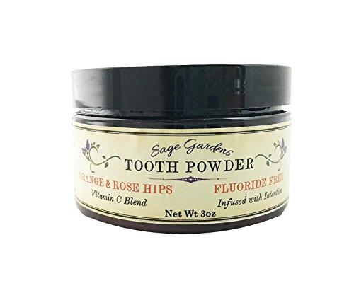 Orange & Rose Hips Tooth Powder, 3 oz