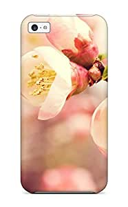 Excellent Iphone 5c Case Tpu Cover Back Skin Protector Flowering Quince