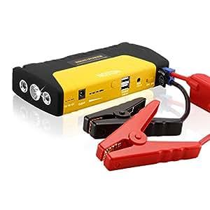 Nopteg Portable Car Jump Starter 12000mah Power Bank 12v