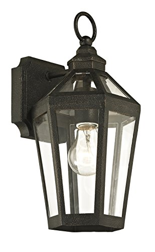 Troy Lighting Outdoor Lamp (Troy Lighting B6371 Calabasas Outdoor Wall Sconce, Vintage Bronze)