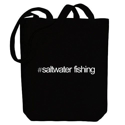 Idakoos Hashtag Saltwater Fishing - Hobbies - Bereich für Taschen zxhaSdxRr