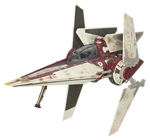 hasbro star wars starfighter vehicle v wing fighter toys games. Black Bedroom Furniture Sets. Home Design Ideas