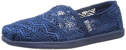 (BOBS from Skechers Women's World Dream Catcher Flat, Navy Dreamcatcher, 7.5 M US)