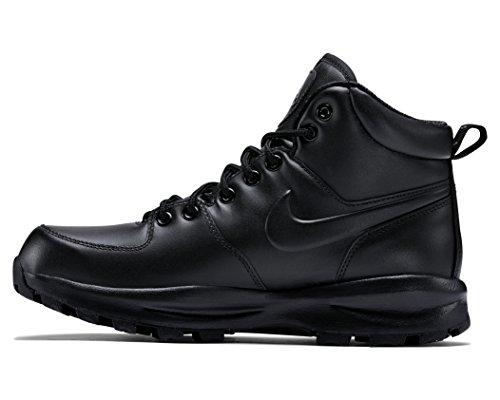 Nike Air Max Goadome - NIKE Men's Manoa Leather Black/Black/Black Boot 8 Men US