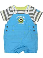 Disney Baby Infant Boys 2P Monster's Inc T-Shirt & Overalls Set