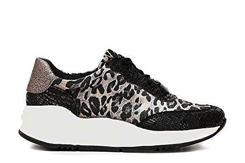 i A Da977 19 2018 Sneakers Cafe' Cod Maculato Noir Donna Jda977 8YXUP