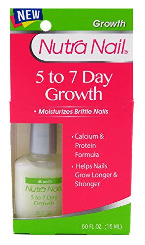 Nutranail 5 To 7 Day Growth Calcium Protein 0.45 Ounce (13ml) (6 (Nutra Nail Growth Treatment)