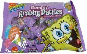 SpongeBob Squarepants Krabby Patties, 6.34oz Bag of Krabby Patties]()