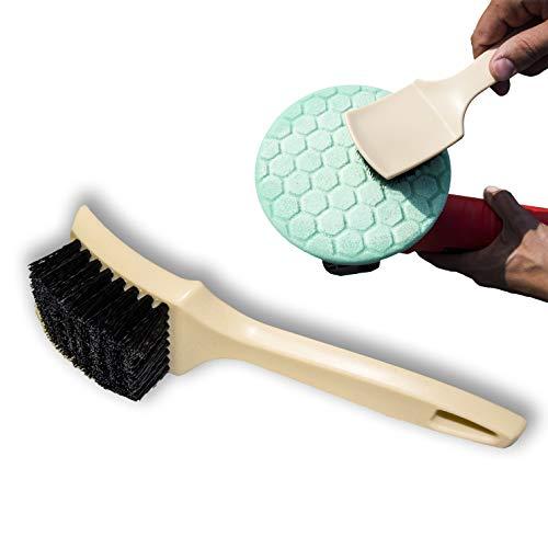 1x Sponge Cone Metal Polishing Foam Pad Wool Buffing: Best Polishing Pad Cleaning Brush