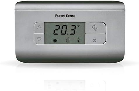couleur anthracite Fantini Cosmi CH117 Thermostat /à piles 3/temp/ératures