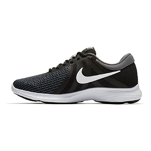 Nike Womens Revolution 4 Scarpa Da Corsa Larga Nero Bianco Antracite