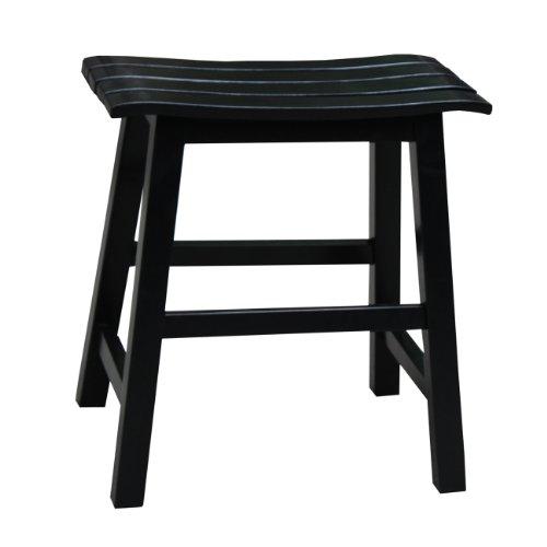 International Concepts Slat Seat Stool, 18-Inch Seat Height, (Slat Seat)