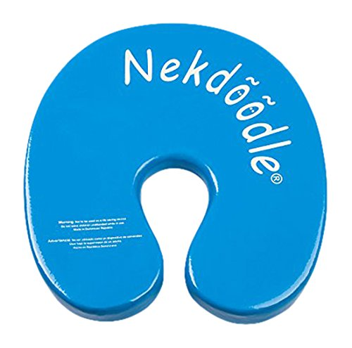 nekdoodle-swimming-pool-float-device-vinyl-coated-foam-cushion-water-fitness-aid-blue