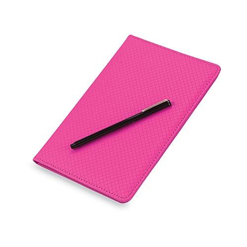 Samsill Fashion Portfolio/ Padholder, Diamond Deboss Design, Soft Padded Textured Cover, Junior Size Writing Pad, 5 x 8