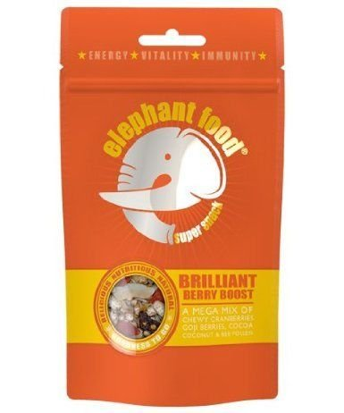 Elephant Food Super Snack Brilliant Berry Boost Mixed Nuts & Seed Snack Bag 75g