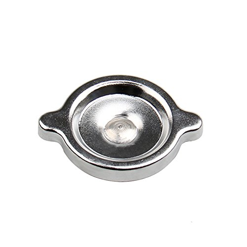 Chrome Oil Cap Cover (Big-Autoparts Valve Cover and Oil Filler Cap Twist-On Style Chrome Plated)