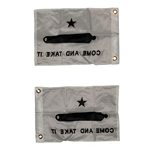 Mikash 12x18 Gonzales Gonzalez Come and Take It Double Sided 12x18 Flag   Model FLG - 3041 ()