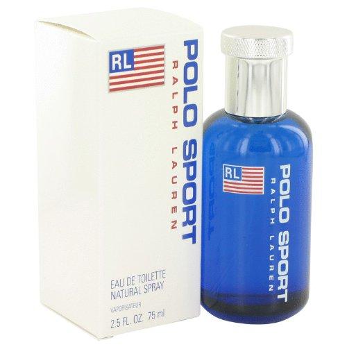 Ràlph Laurén Pôlo Spôrt Côlogne For Men 2.5 oz Eau De Toilette Spray + a FREE 2.6 oz Deodorant Stick - Polo Sport Deodorant Stick
