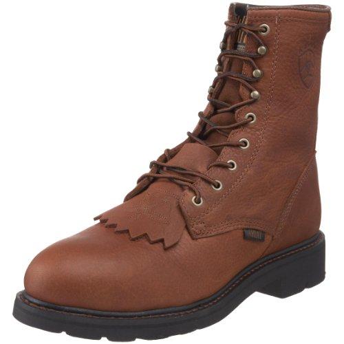 Ariat Mens Cascade 8 Steel Toe Work Boot Sunshine Wildcat pzgfc5T