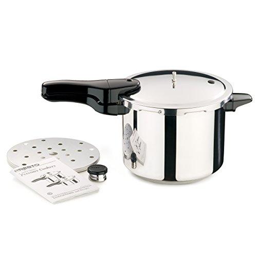 Presto 01362 6-Quart Stainless Steel Pressure Cooker by Presto (Image #2)