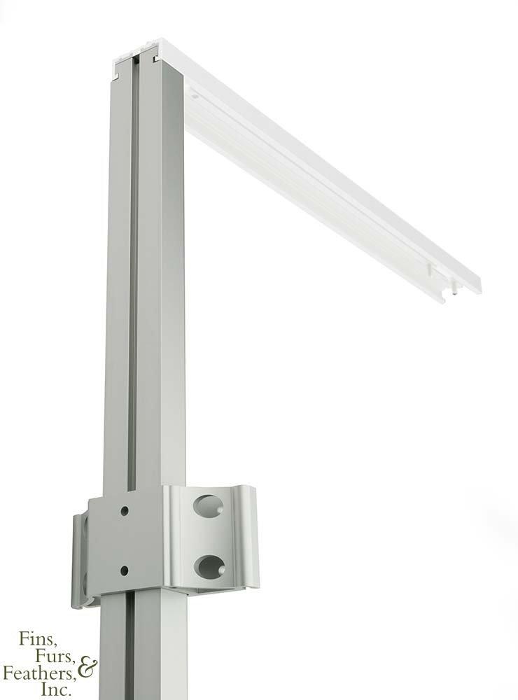 Clear Aqua Illumination Ext Rail 48 . (Clear)