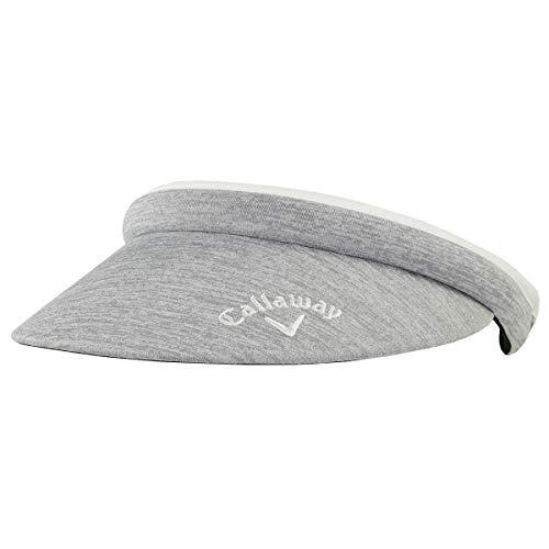 - Callaway Golf Hat Womens Clip Visor (Adjustable, Silver, Womens Headwear)