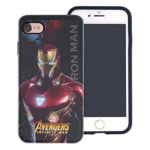 iPhone 6S / iPhone 6 Case Marvel Avengers Infinity War Layered Hybrid [TPU + PC] Shock Absorption Bumper Cover for [ iPhone6S / iPhone6 (4.7inch) ] Case - Iron Man (I Phone 6 Case Iron Man)