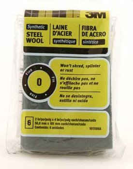 3M 10118NA #0 Synthetic Steel Wool ()