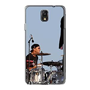 Shockproof Hard Cell-phone Cases For Samsung Galaxy Note3 (lbc2961Pcct) Unique Design Stylish Red Hot Chili Peppers Skin