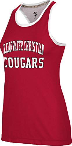 ProSphere Women's Clearwater Christian College Crisscross Loose Training - Clearwater You Fl Fit