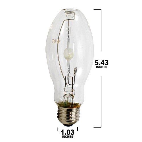 PLATINUM MH 70w /U/MED metal halide bulb