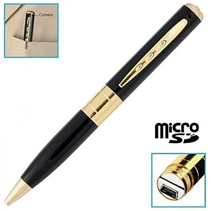 Bolígrafo cámara espía con Micro Integrado – Tarjeta Micro SD 16 GB